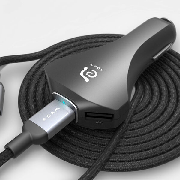 Adam Elements CASA CO3 USB Type-C QC3.0 Car Charger