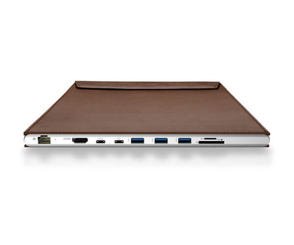 DockCase for Apple MacBook - Coffee Brown