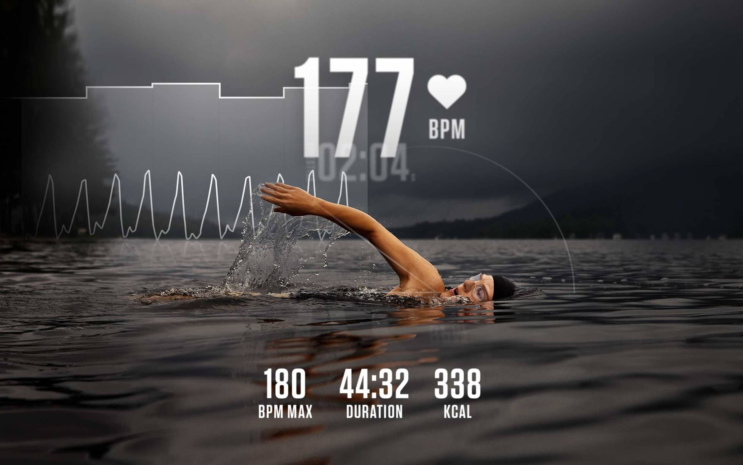 Moov HR Sweat Heart Rate Workout Coach