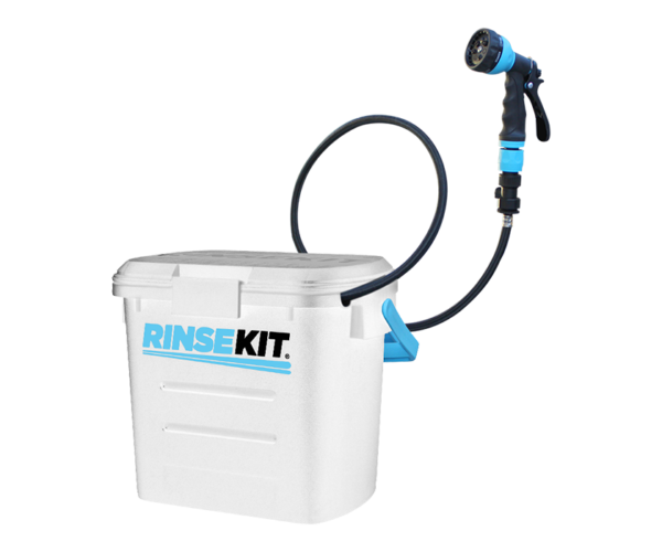 US Rinsekit Pressurized Portable-Shower / Sprayer