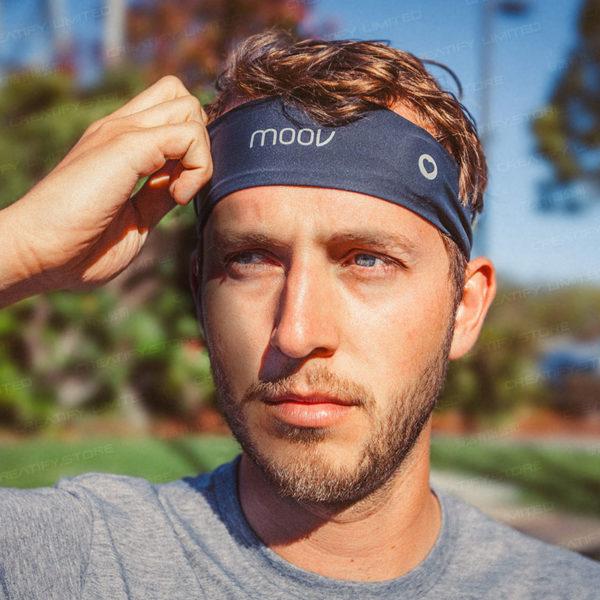 MOOV HR Sweat 心率運動頭帶 (Moov HR Sweat Heart Rate Workout Coach)