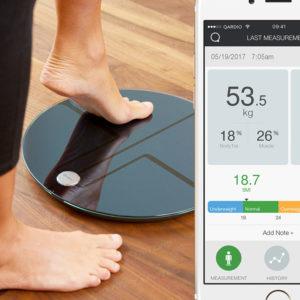 QardioBase 2 無線智能體重磅,體脂及身體分析儀