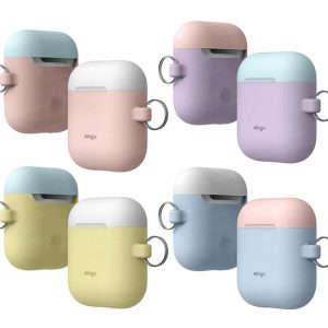 美國 elago AirPods Duo 雙色煥彩隨身扣環保護套 (Elago Airpods Duo Hang Case)
