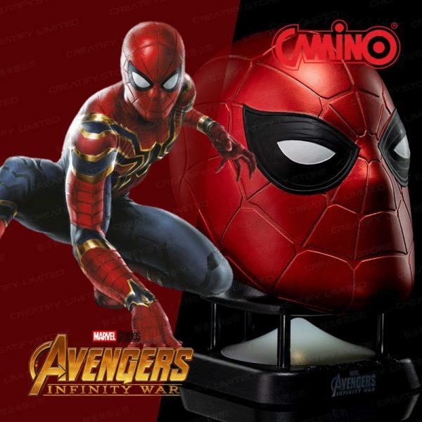 CAMINO MARVEL 鋼鐵蜘蛛人迷你藍牙喇叭 (第二代) (Iron Spiderman Mask Mini Bluetooth Speaker V2.0)