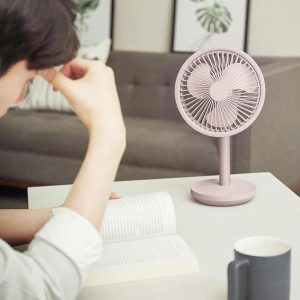 Solove F5 台式 USB 自動搖頭風扇 (Solove F5 Desktop Swing Head Fan)