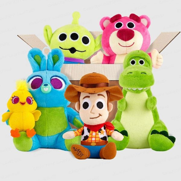 反斗奇兵 玩具總動員 Toys Story 4 絨毛藍牙喇叭 (Toy Story 4 Fluff Bluetooth Speaker)