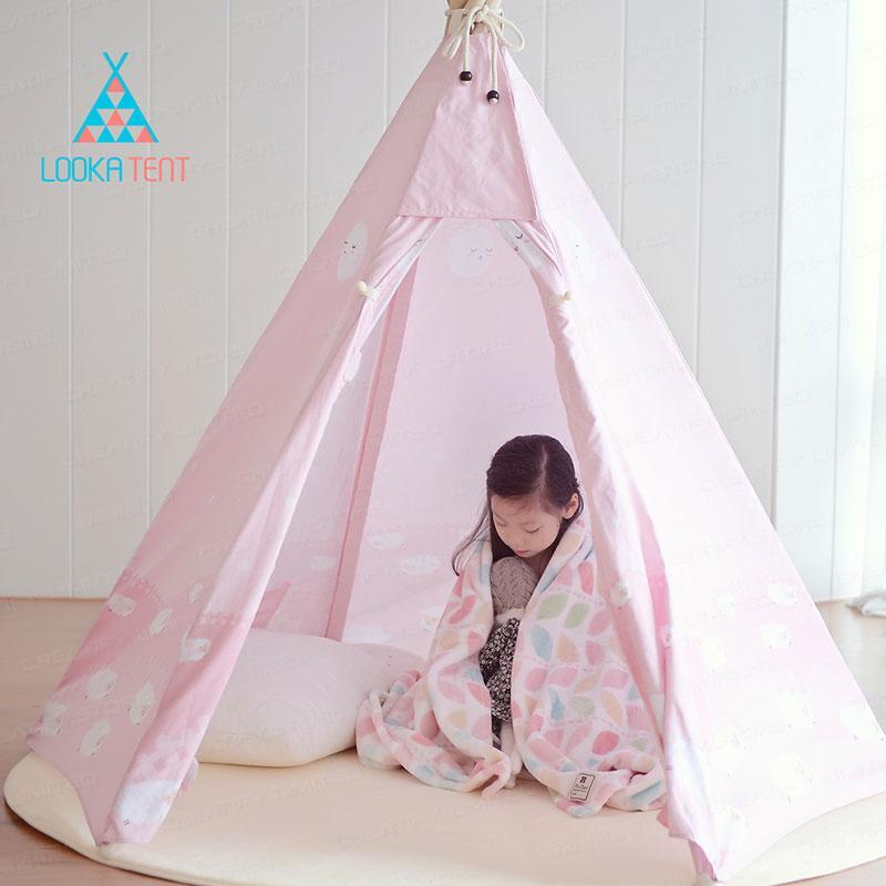 LOOKA 兒童遊戲屋印第安帳篷 (韓國製造) (Looka India Tent)