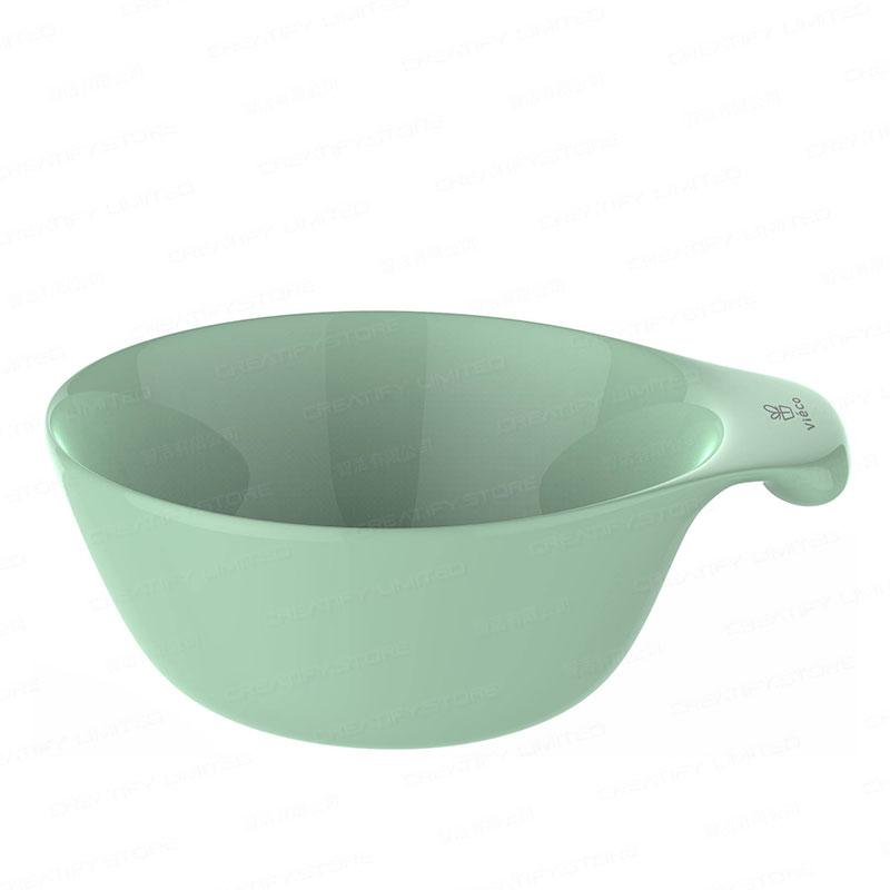 法國 Viéco 天然無毒植物玉米製環保兒童餐具 - 碗 (連手柄位) (France Viéco PLA Eco-Friendly Kid Tablewares - Bowl)