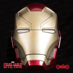 CAMINO MARVEL 1:1 Iron Man 鋼鐵人 MK46 頭盔藍牙喇叭 (Iron Man Mark 46 Helmet Life-Size Bluetooth Speaker)