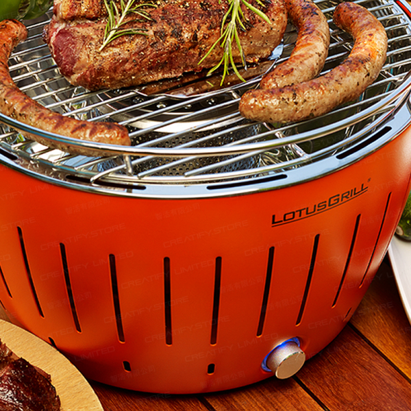 德國 LotusGrill 無煙炭火燒烤爐 (Germany Lotusgrill Smokeless Charcoal Barbecue)