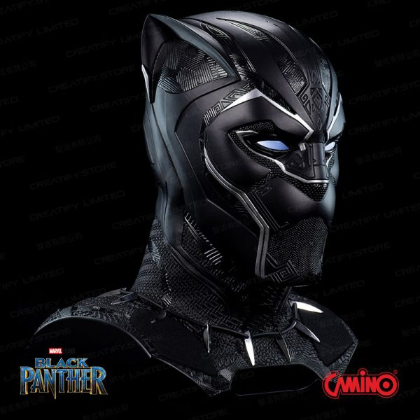 CAMINO MARVEL 1:1 Black Panther 黑豹藍牙喇叭 (Marvel Black Panther Life-Size Bluetooth Speaker)
