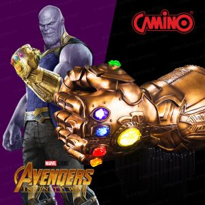 CAMINO MARVEL 1:1 Infinity Gauntlet 無限手套 HiFi 系統揚聲器組 (限量樹脂/純銅版) (Avengers 3 Infinity Gauntlet Life-Size Bluetooth HI-FI System)