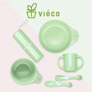 法國 Viéco 天然無毒植物玉米製環保兒童餐具 (France Viéco PLA Eco-Friendly Kid Tablewares)