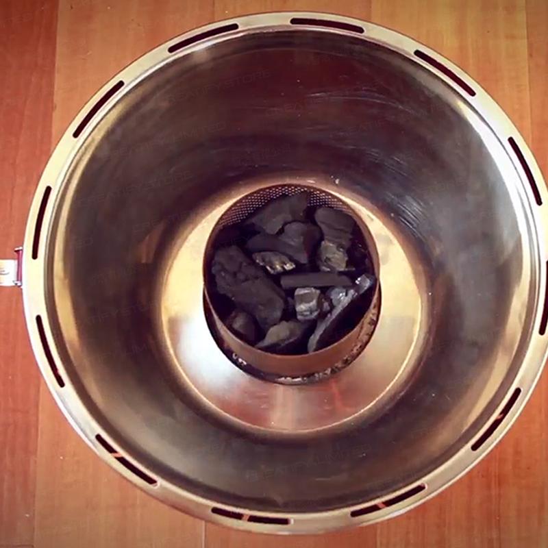 德國 LotusGrill 無煙炭火燒烤爐 (Germany Lotusgrill Smokeless Charcoal Barbecue)