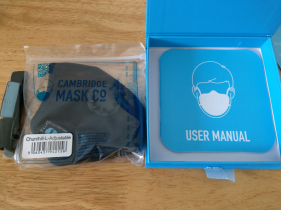 英國 Cambridge Mask Pro 軍用級活性炭層 N99 級防護級別超強口罩 (Cambridge Mask Military Grade Activated Carbon N99 Mask)
