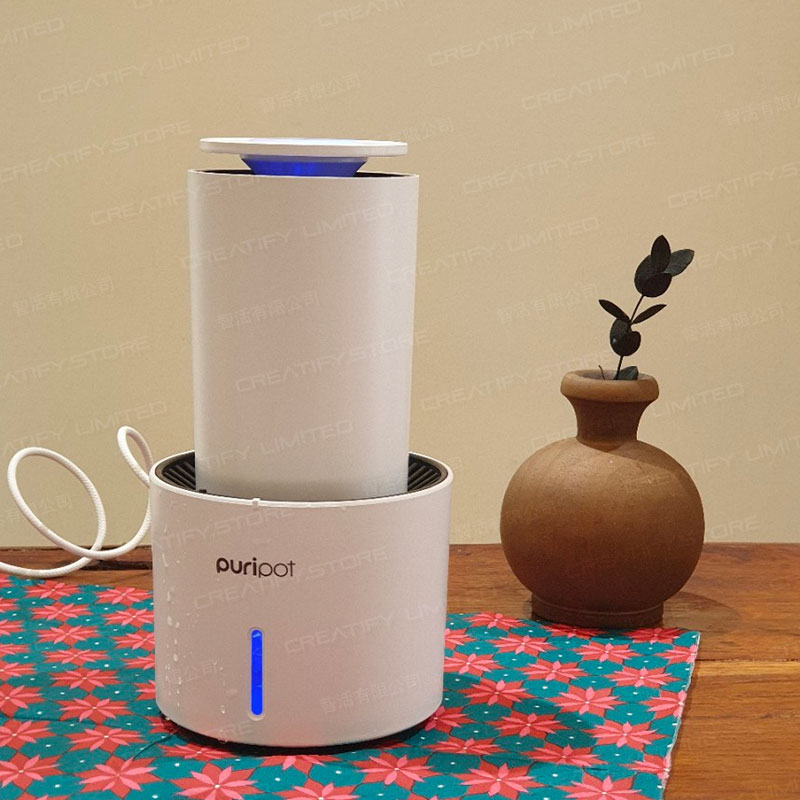 Puripot P1N-IoT 光觸媒空氣清淨擴香機 (Korea Puripot P1N All In One Personal IOT Air Purifier)
