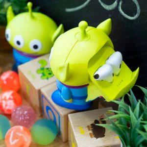 迪士尼正版授權三眼仔 AirPods 充電盒 (Mouseton Works Disney Toy Story Little Green Man Portable Airpods Charger)