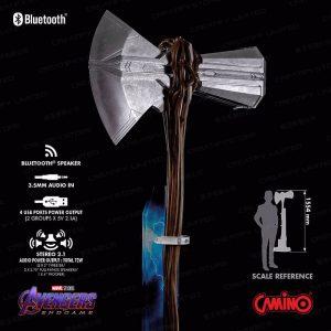 CAMINO MARVEL Stormbreaker 風暴毀滅者 1:1 HiFi 系統揚聲器組 (Marvel Camino Stormbreaker Life-Size Bluetooth HI-FI System)