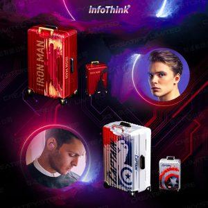 infoThink 漫威系列 Les Héros 真無線藍牙耳機 (鋼鐵人/美國隊長) (InfoThink Marvel Series Les Héros True Wireless Bluetooth Headset - Ironman / Captain America)