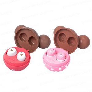 infoThink 米奇/米妮系列 真無線藍牙耳機 (草莓巧克力限定造型) (InfoThink Minnie Series True Wireless Bluetooth Earbuds Headset)