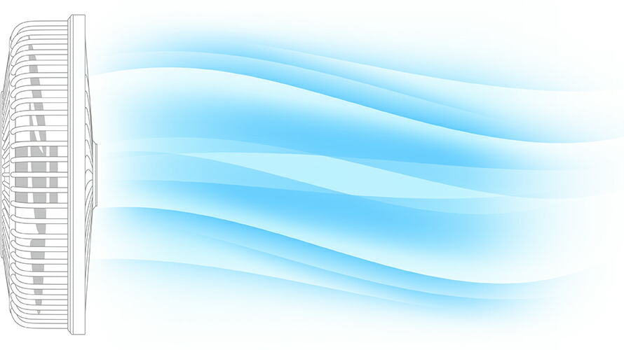 日本 MODERN DECO SUNRIZE – YY01 360 度迴轉慳電風扇 - 座地座檯兩用 (Japan Modern Deco Sunrize – YY01 360egree Rotary Energy Saving Standing Fan)